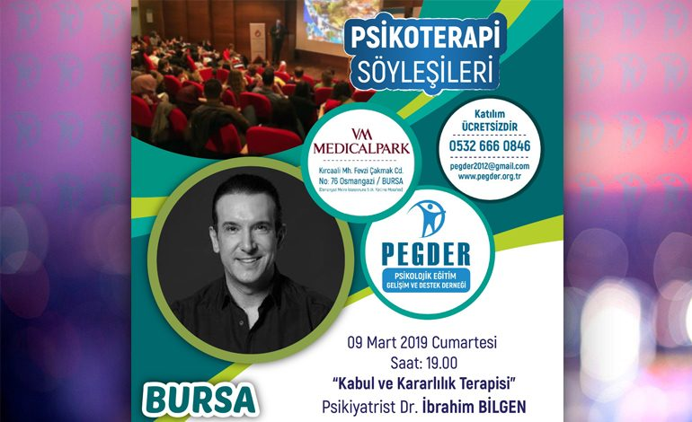Psikiyatrist Dr.İbrahim BİLGEN ile Psikoterapi Söyleşileri 09 Mart 2019