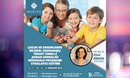 Çocuk ve Ergenlerde BDT Temelli Akran Zorbalığı Müdahale Programı Uygulayıcı Eğitimi - 26/30 Ağustos 2019 (BURSA)