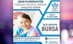 3.Çocuk ve Ergenler İçin Psikolojik Sağlamlık Geliştirme Programı Uygulayıcı Eğitimi - 26/27 Ekim 2019 (BURSA)