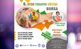 6.Oyun Terapisi Eğitimi - BURSA (Eylül 2020 - Ocak 2021)