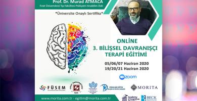 3.Bilişsel Davranışçı Terapi Eğitimi - ONLİNE (Haziran 2020)