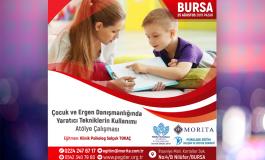 Çocuk ve Ergen Danışmanlığında Yaratıcı Tekniklerin Kullanımı Atölye Çalışması - 25 Ağustos 2019 (BURSA)