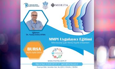 MMPI Uygulayıcı Eğitimi - 14/15 Eylül 2019 (BURSA)