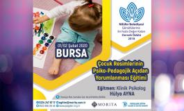Çocuk Resimleri Yorumlama Eğitimi - 01/02 Şubat 2020 (BURSA)