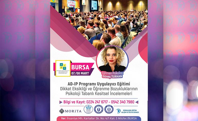 AD-IP Programı – 07/08 Mart 2020 – BURSA